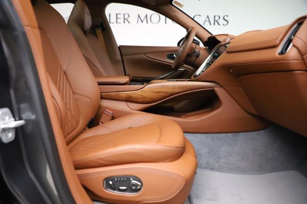 New 2021 Aston Martin DBX SUV for sale $229,486 at Aston Martin of Greenwich in Greenwich CT 06830 20