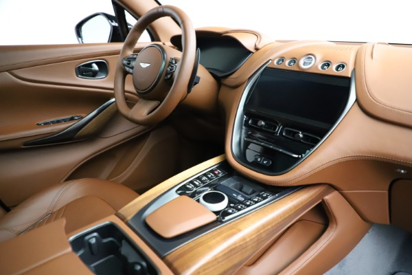 New 2021 Aston Martin DBX SUV for sale $229,486 at Aston Martin of Greenwich in Greenwich CT 06830 21