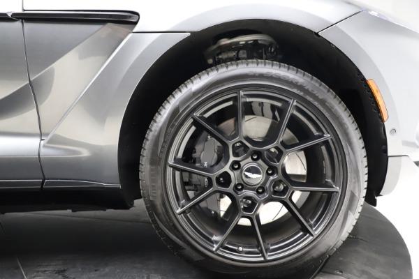 New 2021 Aston Martin DBX SUV for sale $229,486 at Aston Martin of Greenwich in Greenwich CT 06830 22