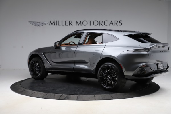 New 2021 Aston Martin DBX for sale $229,486 at Aston Martin of Greenwich in Greenwich CT 06830 3