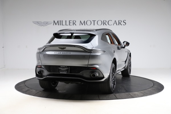 New 2021 Aston Martin DBX SUV for sale $229,486 at Aston Martin of Greenwich in Greenwich CT 06830 6