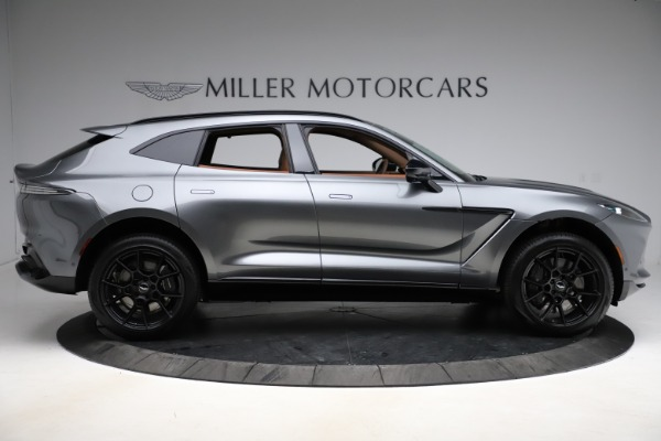 New 2021 Aston Martin DBX SUV for sale $229,486 at Aston Martin of Greenwich in Greenwich CT 06830 8