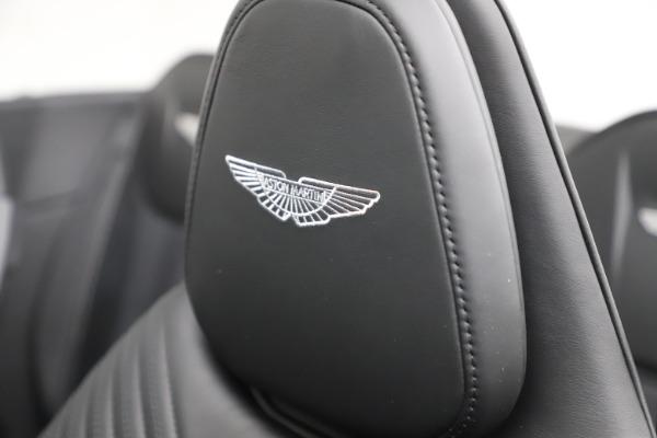 New 2021 Aston Martin DB11 Volante Convertible for sale $254,416 at Aston Martin of Greenwich in Greenwich CT 06830 23
