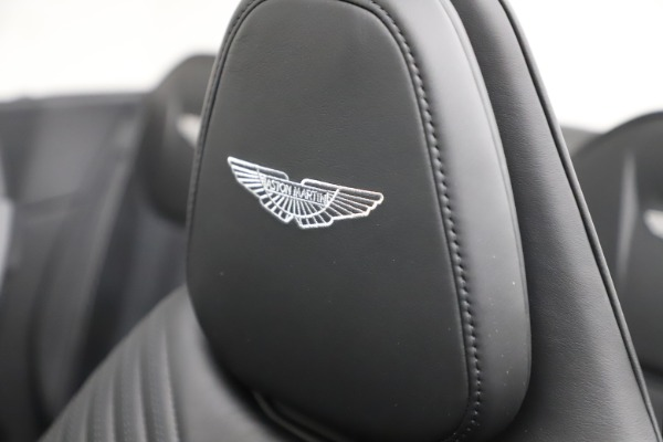 New 2021 Aston Martin DB11 Volante for sale $254,416 at Aston Martin of Greenwich in Greenwich CT 06830 23