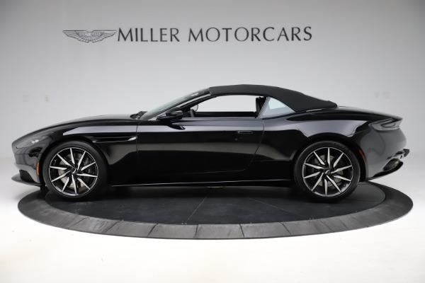 New 2021 Aston Martin DB11 Volante for sale $254,416 at Aston Martin of Greenwich in Greenwich CT 06830 25