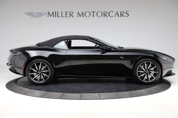 New 2021 Aston Martin DB11 Volante Convertible for sale $254,416 at Aston Martin of Greenwich in Greenwich CT 06830 28