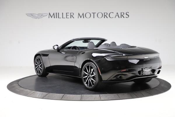New 2021 Aston Martin DB11 Volante Convertible for sale $254,416 at Aston Martin of Greenwich in Greenwich CT 06830 4
