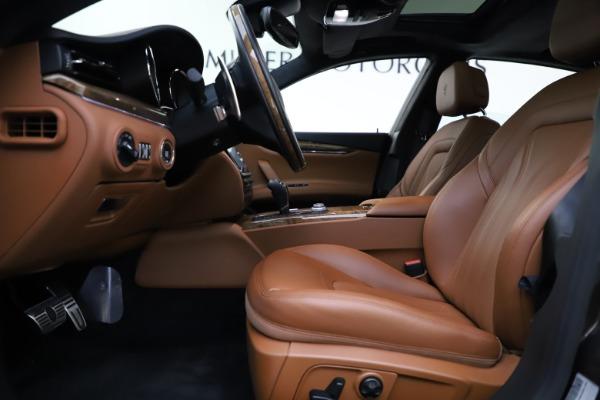 Used 2018 Maserati Quattroporte S Q4 GranLusso for sale $69,900 at Aston Martin of Greenwich in Greenwich CT 06830 14