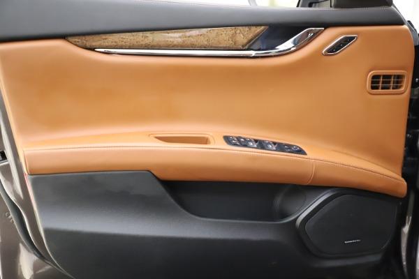 Used 2018 Maserati Quattroporte S Q4 GranLusso for sale $69,900 at Aston Martin of Greenwich in Greenwich CT 06830 17