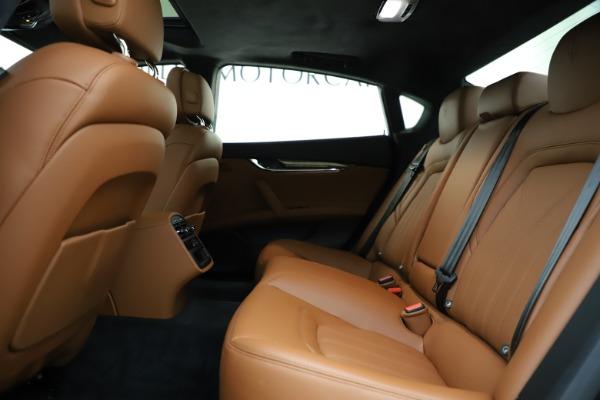 Used 2018 Maserati Quattroporte S Q4 GranLusso for sale $69,900 at Aston Martin of Greenwich in Greenwich CT 06830 19