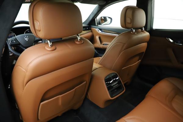 Used 2018 Maserati Quattroporte S Q4 GranLusso for sale $69,900 at Aston Martin of Greenwich in Greenwich CT 06830 22