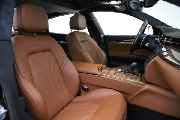 Used 2018 Maserati Quattroporte S Q4 GranLusso for sale $69,900 at Aston Martin of Greenwich in Greenwich CT 06830 23