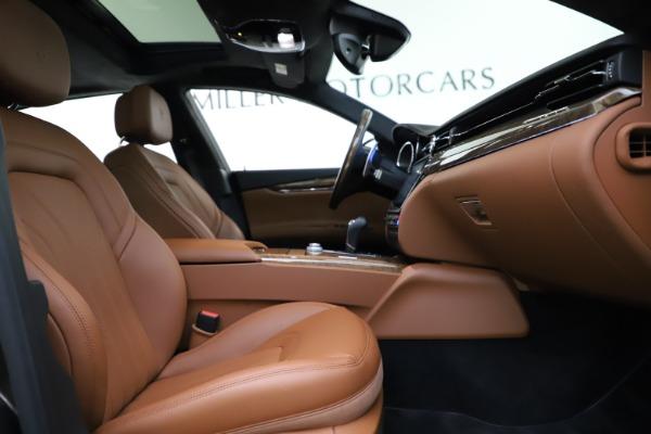Used 2018 Maserati Quattroporte S Q4 GranLusso for sale $69,900 at Aston Martin of Greenwich in Greenwich CT 06830 24