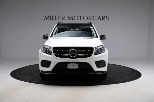 Used 2018 Mercedes-Benz GLS 550 for sale Sold at Aston Martin of Greenwich in Greenwich CT 06830 12