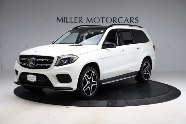 Used 2018 Mercedes-Benz GLS 550 for sale Sold at Aston Martin of Greenwich in Greenwich CT 06830 2