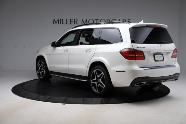 Used 2018 Mercedes-Benz GLS 550 for sale Sold at Aston Martin of Greenwich in Greenwich CT 06830 5