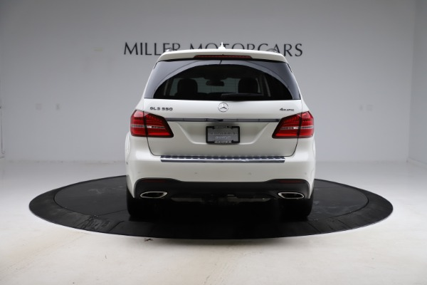 Used 2018 Mercedes-Benz GLS 550 for sale Sold at Aston Martin of Greenwich in Greenwich CT 06830 6