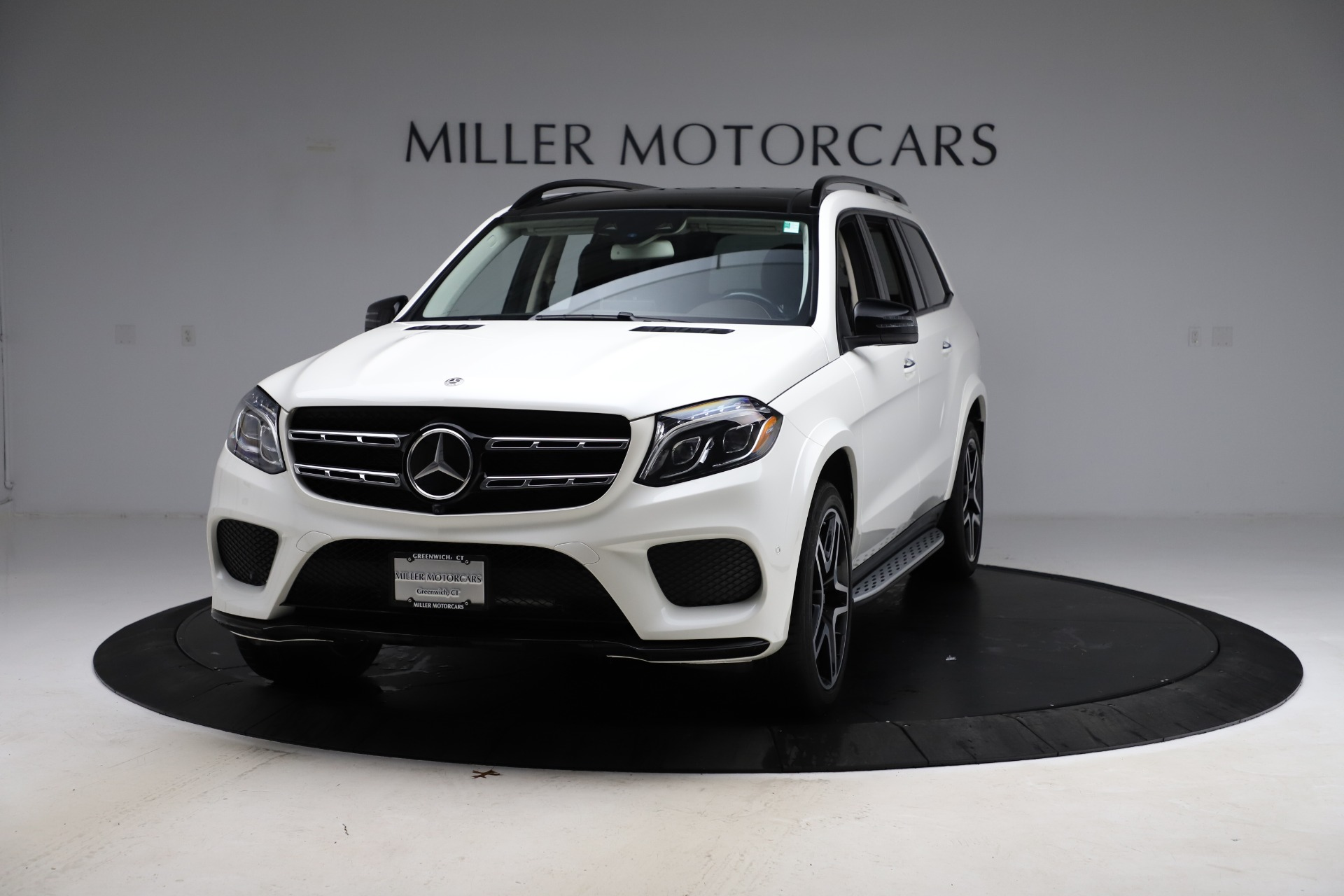 Used 2018 Mercedes-Benz GLS 550 for sale Sold at Aston Martin of Greenwich in Greenwich CT 06830 1
