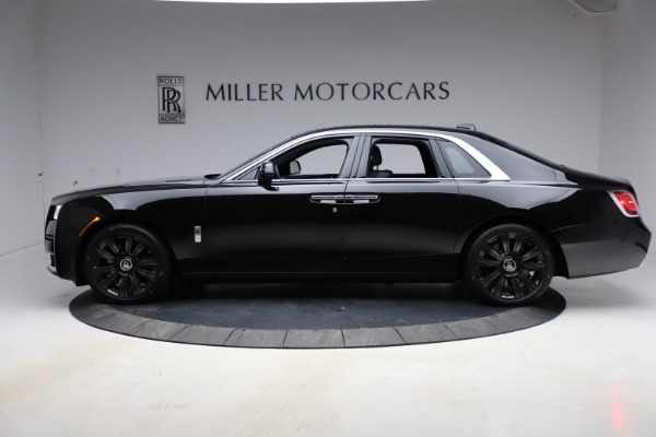 New 2021 Rolls-Royce Ghost for sale $374,150 at Aston Martin of Greenwich in Greenwich CT 06830 4