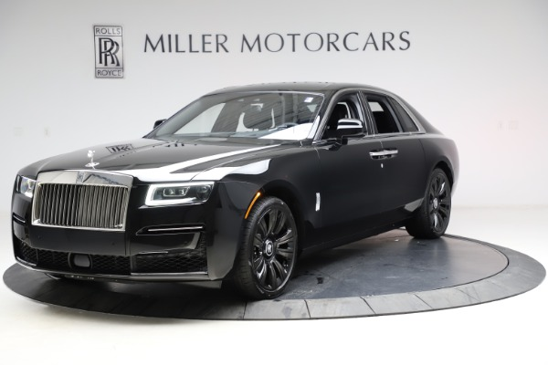 New 2021 Rolls-Royce Ghost for sale $370,650 at Aston Martin of Greenwich in Greenwich CT 06830 3