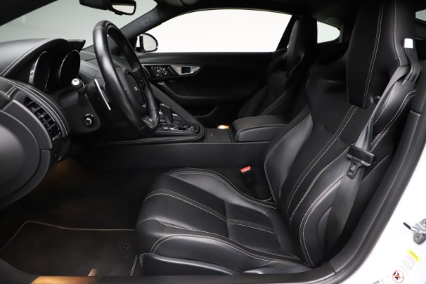 Used 2016 Jaguar F-TYPE R for sale Sold at Aston Martin of Greenwich in Greenwich CT 06830 14