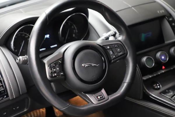 Used 2016 Jaguar F-TYPE R for sale Sold at Aston Martin of Greenwich in Greenwich CT 06830 16
