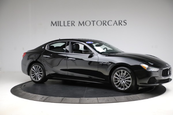 Used 2017 Maserati Ghibli S Q4 for sale $41,900 at Aston Martin of Greenwich in Greenwich CT 06830 10