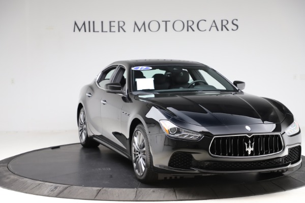 Used 2017 Maserati Ghibli S Q4 for sale $41,900 at Aston Martin of Greenwich in Greenwich CT 06830 11