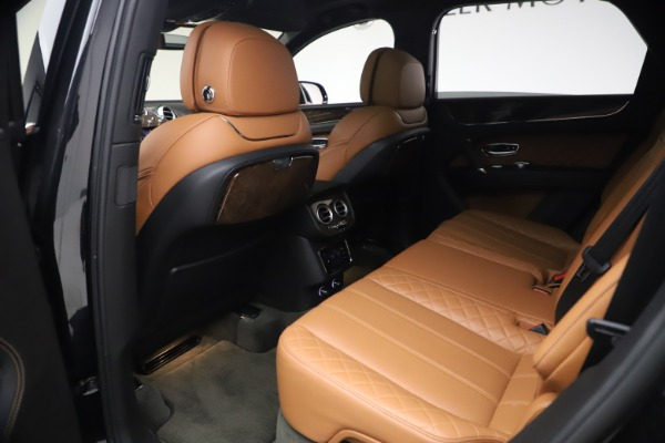 Used 2017 Bentley Bentayga W12 for sale $126,900 at Aston Martin of Greenwich in Greenwich CT 06830 22