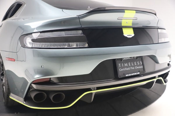 Used 2019 Aston Martin Rapide AMR Sedan for sale $187,900 at Aston Martin of Greenwich in Greenwich CT 06830 26