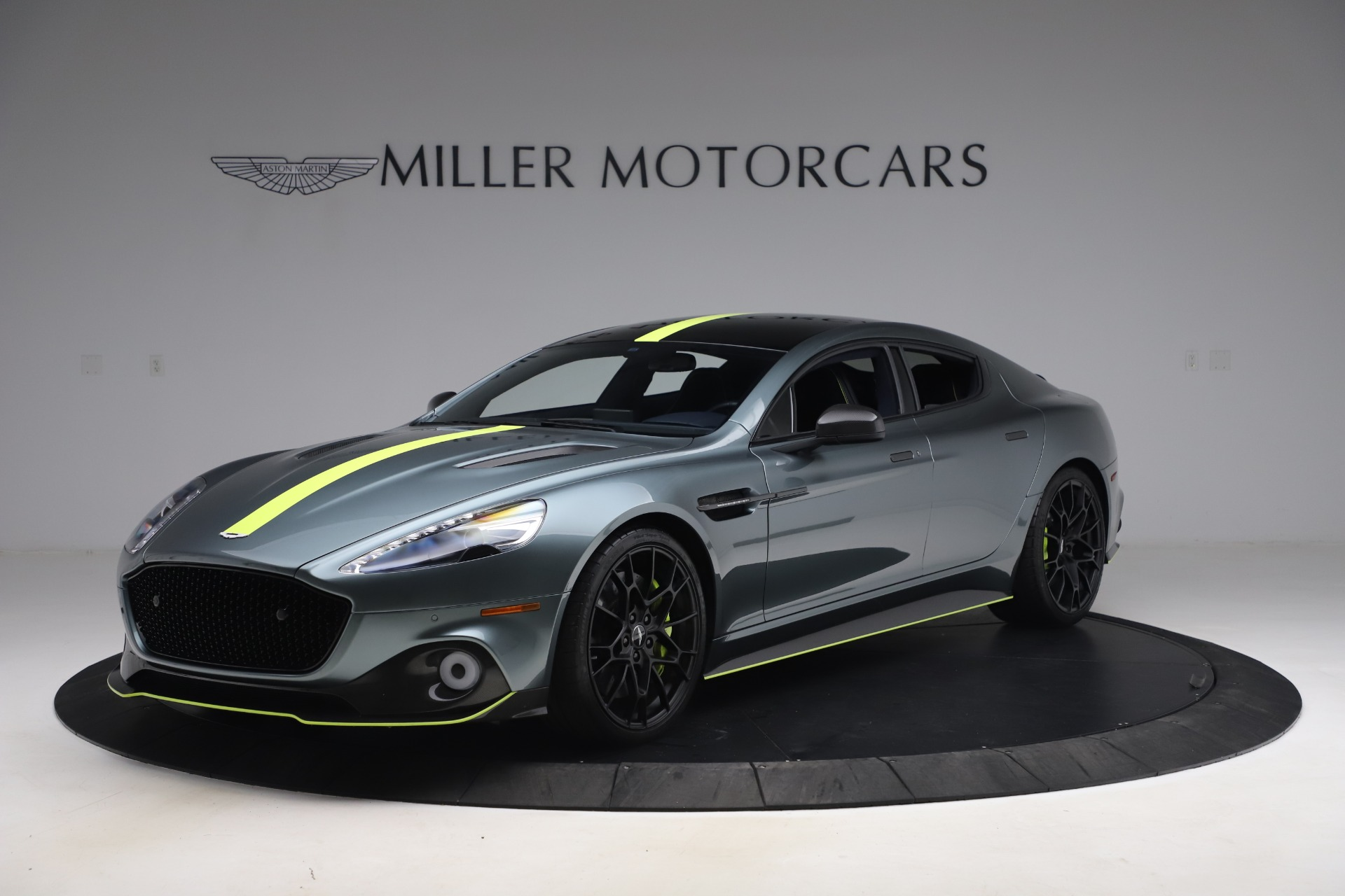 Used 2019 Aston Martin Rapide AMR Sedan for sale $187,900 at Aston Martin of Greenwich in Greenwich CT 06830 1
