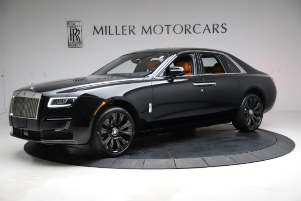 New 2021 Rolls-Royce Ghost for sale Sold at Aston Martin of Greenwich in Greenwich CT 06830 3