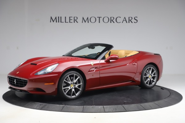Used 2014 Ferrari California 30 for sale Sold at Aston Martin of Greenwich in Greenwich CT 06830 2