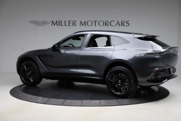 New 2021 Aston Martin DBX for sale $201,586 at Aston Martin of Greenwich in Greenwich CT 06830 3