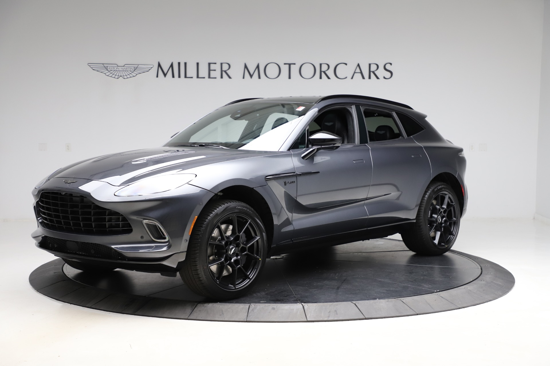 New 2021 Aston Martin DBX for sale $201,586 at Aston Martin of Greenwich in Greenwich CT 06830 1