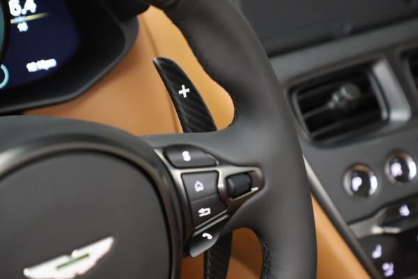 New 2021 Aston Martin DBS Superleggera Volante Convertible for sale $402,786 at Aston Martin of Greenwich in Greenwich CT 06830 19