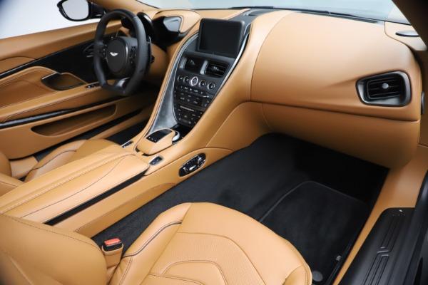 New 2021 Aston Martin DBS Superleggera Volante Convertible for sale $402,786 at Aston Martin of Greenwich in Greenwich CT 06830 21