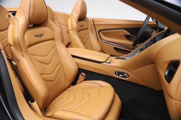New 2021 Aston Martin DBS Superleggera Volante Convertible for sale $402,786 at Aston Martin of Greenwich in Greenwich CT 06830 23