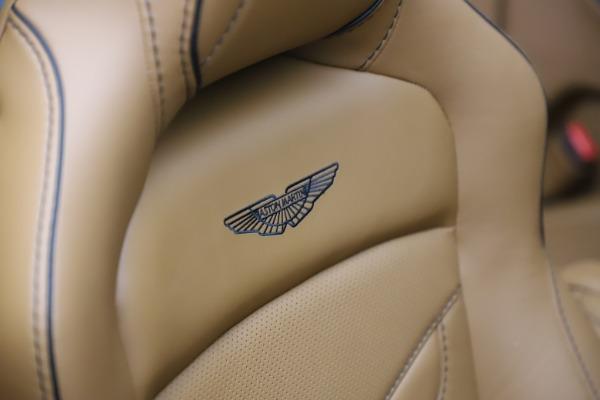New 2021 Aston Martin DBS Superleggera Volante Convertible for sale $402,786 at Aston Martin of Greenwich in Greenwich CT 06830 24