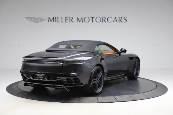 New 2021 Aston Martin DBS Superleggera Volante Convertible for sale $402,786 at Aston Martin of Greenwich in Greenwich CT 06830 28