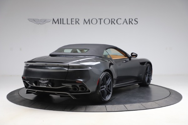 New 2021 Aston Martin DBS Superleggera Volante for sale Sold at Aston Martin of Greenwich in Greenwich CT 06830 28