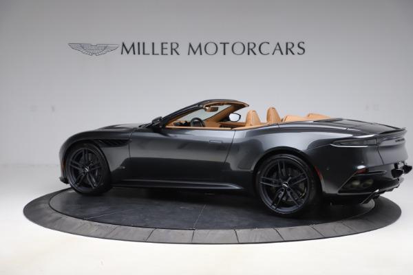New 2021 Aston Martin DBS Superleggera Volante Convertible for sale $402,786 at Aston Martin of Greenwich in Greenwich CT 06830 3