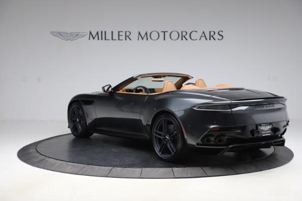 New 2021 Aston Martin DBS Superleggera Volante Convertible for sale $402,786 at Aston Martin of Greenwich in Greenwich CT 06830 4