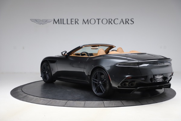 New 2021 Aston Martin DBS Superleggera Volante for sale Sold at Aston Martin of Greenwich in Greenwich CT 06830 4