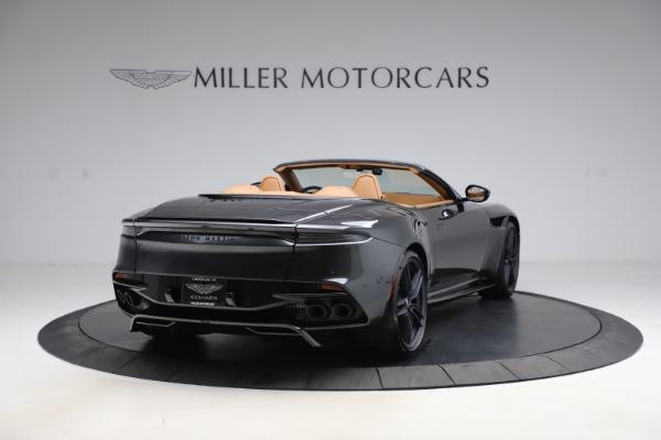 New 2021 Aston Martin DBS Superleggera Volante Convertible for sale $402,786 at Aston Martin of Greenwich in Greenwich CT 06830 6