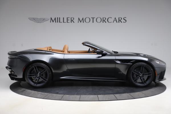 New 2021 Aston Martin DBS Superleggera Volante Convertible for sale $402,786 at Aston Martin of Greenwich in Greenwich CT 06830 8