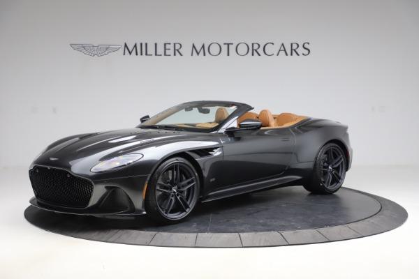 New 2021 Aston Martin DBS Superleggera Volante Convertible for sale $402,786 at Aston Martin of Greenwich in Greenwich CT 06830 1