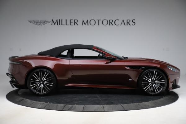 New 2021 Aston Martin DBS Superleggera Volante for sale $362,486 at Aston Martin of Greenwich in Greenwich CT 06830 12