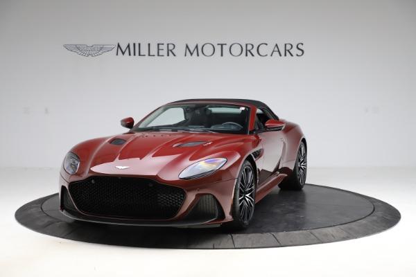 New 2021 Aston Martin DBS Superleggera Volante Convertible for sale $362,486 at Aston Martin of Greenwich in Greenwich CT 06830 16