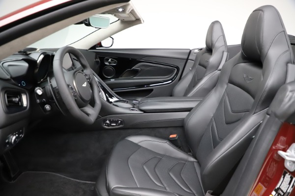 New 2021 Aston Martin DBS Superleggera Volante Convertible for sale $362,486 at Aston Martin of Greenwich in Greenwich CT 06830 18